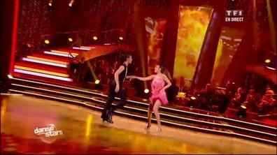 Nâdiya et Christophe Licata dansent un jive sur Shake Your Tailfeather (The Blues Brothers)