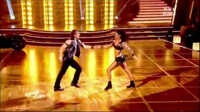 Philippe Candeloro et Candice Pascal dansent un jive sur Antisocial (Trust)