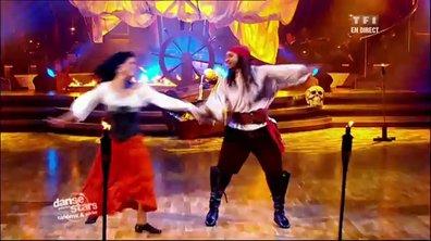 Philippe Candeloro et Candice Pascal dansent une valse viennoise sur Pirates des Caraïbes (Hans Zimmer)