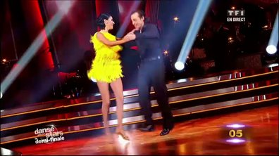 Philippe Candeloro/Candice Pascal et Sheila/Julien Brugel dansent un quickstep sur Puttin' On The Ritz (Fred Astaire)