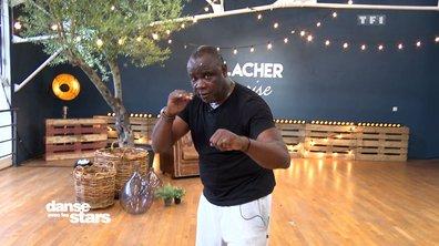 Répétitions – Basile Boli et Katrina : laissez place au Mike Tyson de la danse !