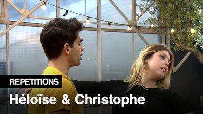 Répétitions - « Il est chiant ce Christophe Licata » Héloise Martin et Christophe Licata