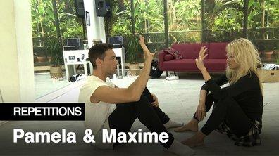 Répétitions - Découvrez la figure imposée de Pamela Anderson et Maxime Dereymez