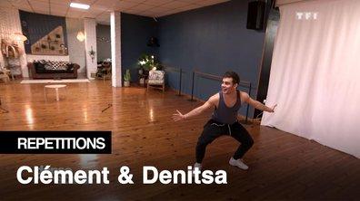 """Répétitions - """"Comme une mini-parodie de la danse"""", Clément Rémiens et Denitsa Ikonomova, comédiens"""