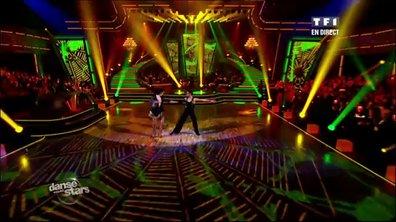 Rossy de Palma et Christophe Licata dansent un cha-cha-cha sur Marcia baila (Les Rita Mitsouko)