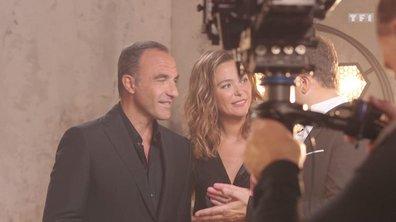 Sandrine Quétier et Nikos : premier duo à la présentation