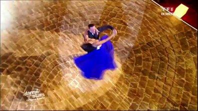 Shy'm et Maxime Dereymez dansent un fox-trot sur Fly Me to the Moon (Frank Sinatra)