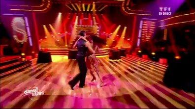 Shy'm et Maxime Dereymez dansent un tango sur Perhaps, Perhaps, Perhaps (Pussycat Dolls)
