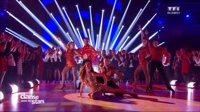 Un Disco pour Fabienne Carat et Julien Brugel sur « You Should Be Dancing » (Bee Gees)