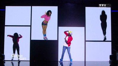 Un Hip-Hop pour Corneille et Candice Pascal sur « U can't touch this » (MC Hammer)