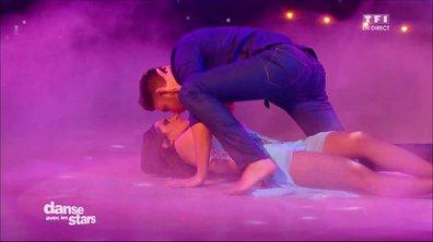 Une Rumba pour Fabienne Carat et Julien Brugel sur « Et tu danses avec lui » (C. Jérôme)