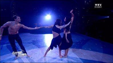 Une rumba en trio pour Alizée et Grégoire sur « Une femme avec une femme » - Mecano