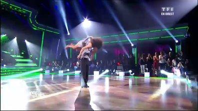 Valérie Bègue et Grégory Guichard dansent un cha-cha-cha sur Judas (Lady Gaga)