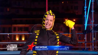Ninja Warrior : Davy Botelho revient s'amuser