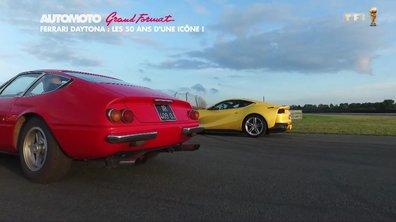 Rencontre en deux légendes : la Ferrari Daytona et la Ferrari 812 Superfast