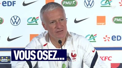 VIDEO – Deschamps s'agace après une question d'un journaliste