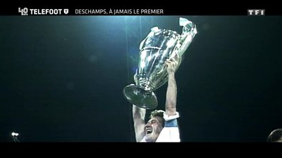 """[EXCLU Téléfoot 10/12] - Le Document Téléfoot - Deschamps revient sur le succès de l'OM en Ligue des champions : """"On a vécu des moments fabuleux"""""""