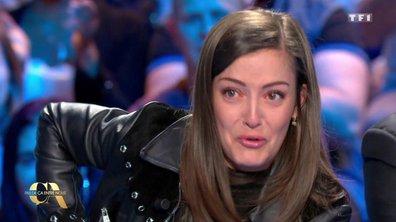 ÉMOTION : Camille Lellouche en larmes