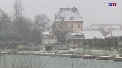 La neige revient dans le Jura