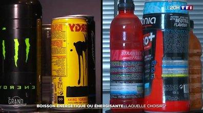 De quoi sont vraiment composées les boissons énergisantes ?