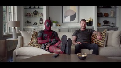 Insolite : Deadpool s'invite chez David Beckham