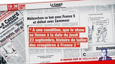 Débat contre Zemmour : comment Jean-Luc Mélenchon a voulu faire payer France 2