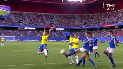 Italie - Brésil (0 - 0) : Voir l'occasion de Debinha en vidéo