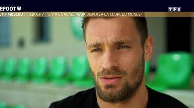 """[Exclu Téléfoot 29/04] - Debuchy : """"La Coupe du monde ? Il y a la place, ce serait formidable d'y aller après les galères"""""""