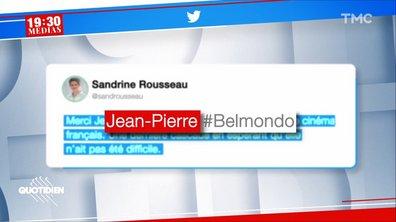 Décès de Jean-Paul Belmondo : le fail de Sandrine Rousseau
