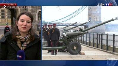 Décès du prince Philip : des coups de canon pour saluer sa carrière militaire