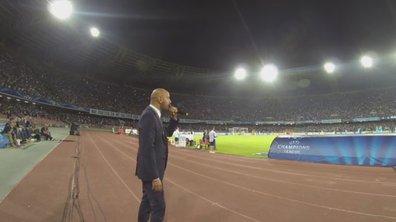 VIDEO Insolite : le speaker de Naples exulte !