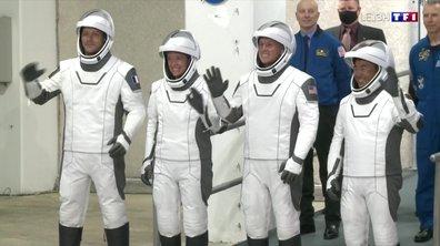 Décollage de Thomas Pesquet pour l'ISS : les images du show à l'américaine