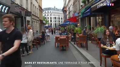 Déconfinement : bars et restaurants préparent la réouverture des terrasses