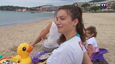 Déconfinement : bronzage autorisé sur la plage de Sainte-Maxime