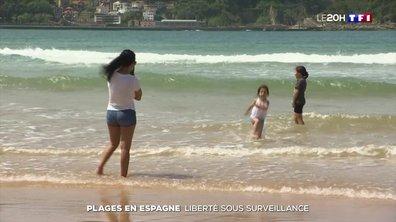 Déconfinement en Espagne : liberté sous surveillance sur les plages