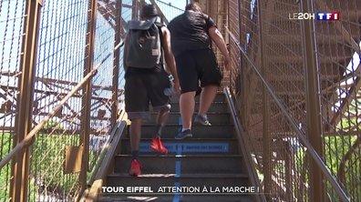 Déconfinement : la Tour Eiffel a rouvert au public après plus de trois mois de fermeture