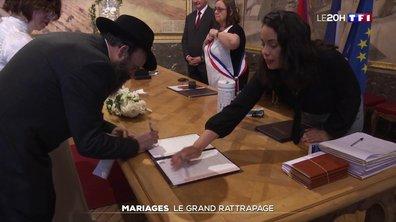 Déconfinement : le grand rattrapage des mariages en mairie
