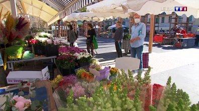 Déconfinement : le grand retour du marché aux fleurs à Nice