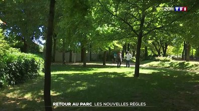 Déconfinement : les parcs rouvrent mais avec de nouvelles règles