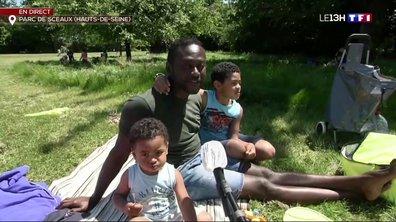 Déconfinement : les visiteurs profitent de la réouverture du parc de Sceaux