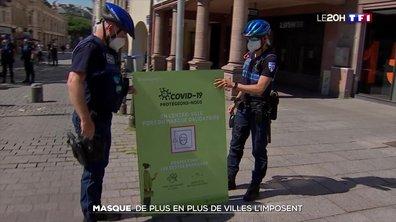 Déconfinement : port du masque obligatoire dans l'hypercentre de Strasbourg