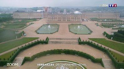 Déconfinement royal à Versailles