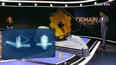 Découvrez, en 3D, à quoi ressemblera le télescope James Webb
