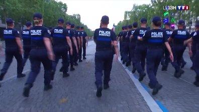 Défilé du 14-Juillet : la police municipale de Nice à l'honneur