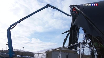 Dégâts causés par la tempête Ciara au Cirque de Paname : la troupe s'active pour sa réouverture