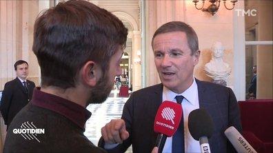 """Dégradation de l'Arc de Triomphe : """"Ce sont les petits casseurs de Castaner"""", assure Nicolas Dupont-Aignan"""