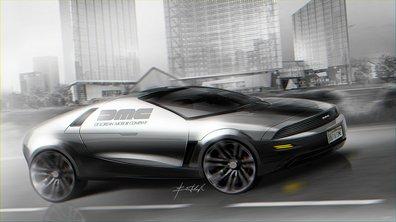 Un designer ukrainien imagine la DeLorean du futur !