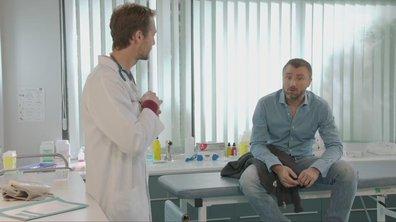Bastien averti Alex des symptômes post traumatiques inévitables