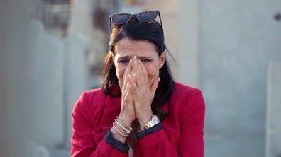 Carla se recueille sur la tombe de Lola (épisode 316)