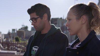 Lucie et Georges se recueillent sur la tombe de Marc Véry (épisode 365)